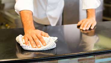 Superior restaurant cleaning in Kingston