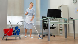 Superb office building cleaning