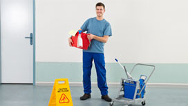 Efficient building cleaning services