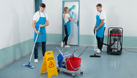 Expert janitorial cleaning services